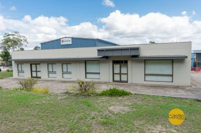 Huge value-multi vehicle access and substantial ac offices/parking