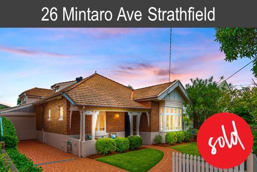 Vendor of 26 Mintaro Ave Strathfield
