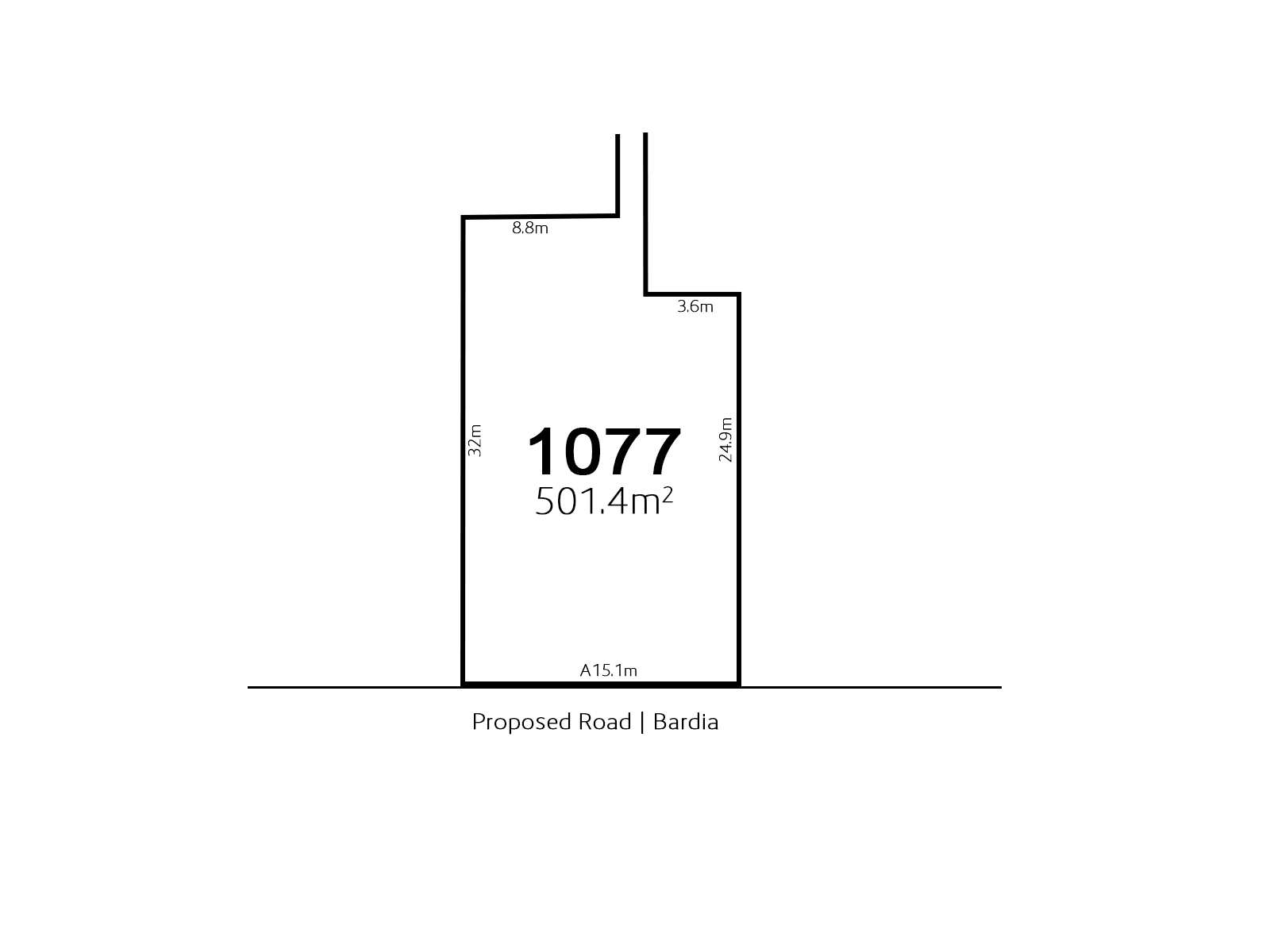 Bardia Lot 1077 Proposed Road | Bardia