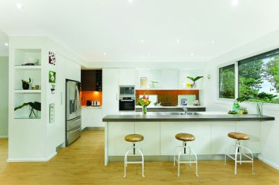 Cottage Charm with Modern Interiors