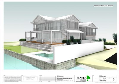 Water Front Land  with DA approved for 4 bedroom home