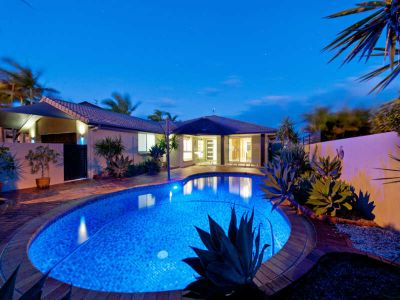 FOUR BEDROOM WATERFRONT HOME WITH POOL
