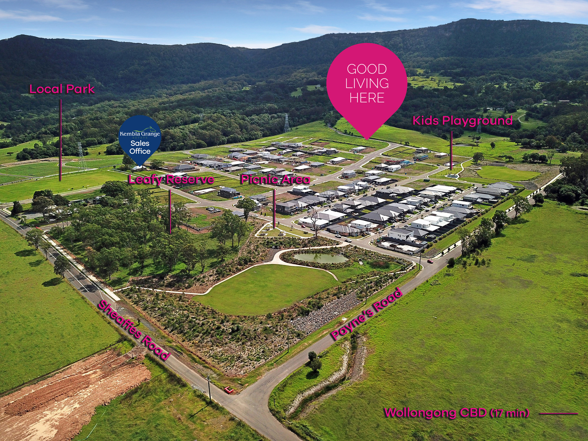 Kembla Grange (Lot 3010) 69 Payne's Road