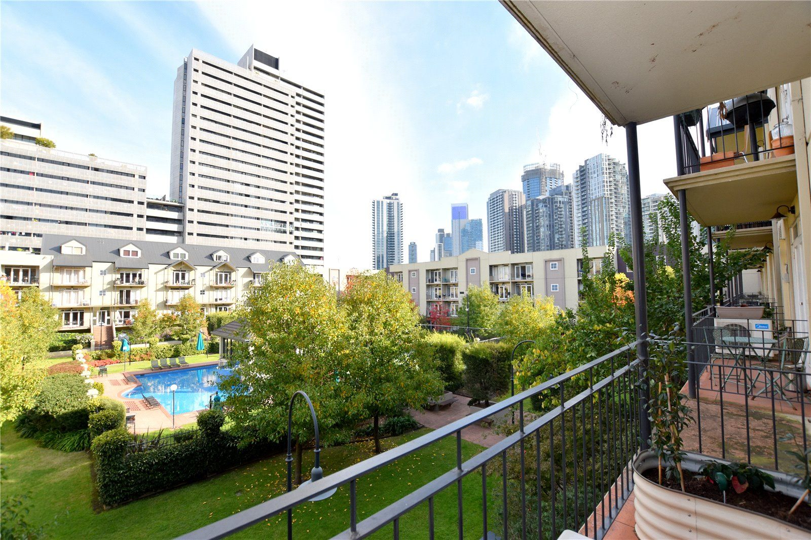 Exquisite Two Bedroom Apartment with Garden Views!
