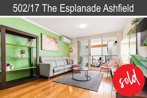 Vendor of 502/17-20 The Esplanade Ashfield