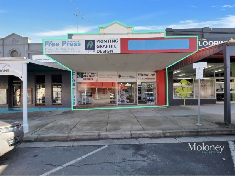 Dual Offices in ideal Main Street Location.