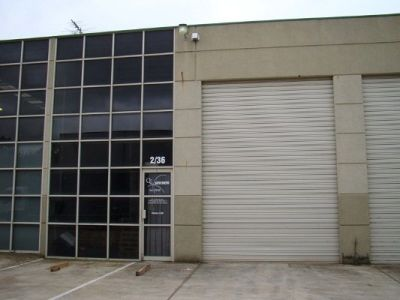 Located in Lilydale's Busiest Industrial Estate