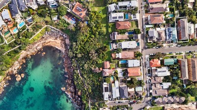 Whole Block of 9 units on the edge of paradise! 10 garages and only 260 metres (approx) from Gordons Bay