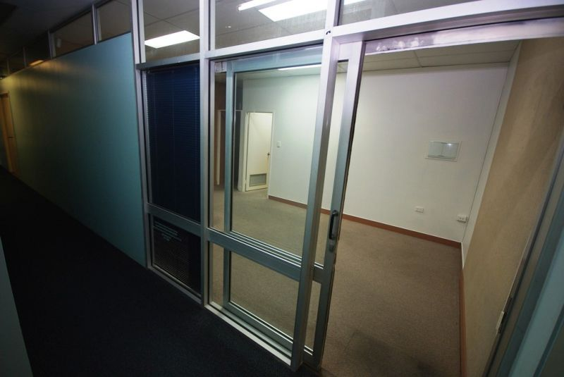 Partitioned offices now leasing