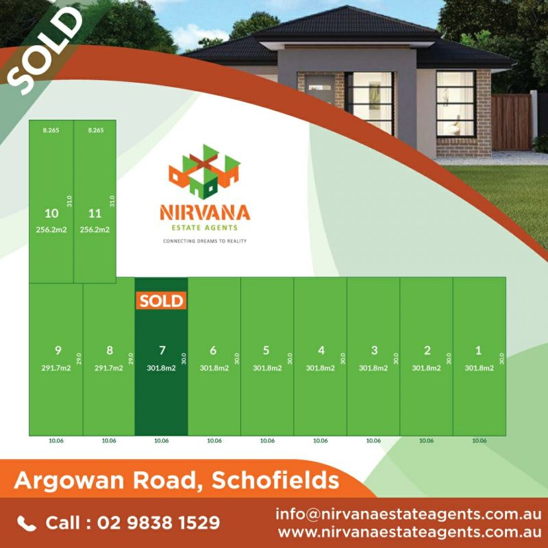 North West Facing Rectangular Block in prime location of Schofields !!  SOLD By Kulwinder from Team Nirvana ! Looking for more properties in the area