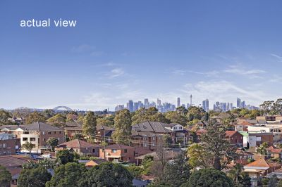 Secluded, Peaceful,  with views to CBD.
