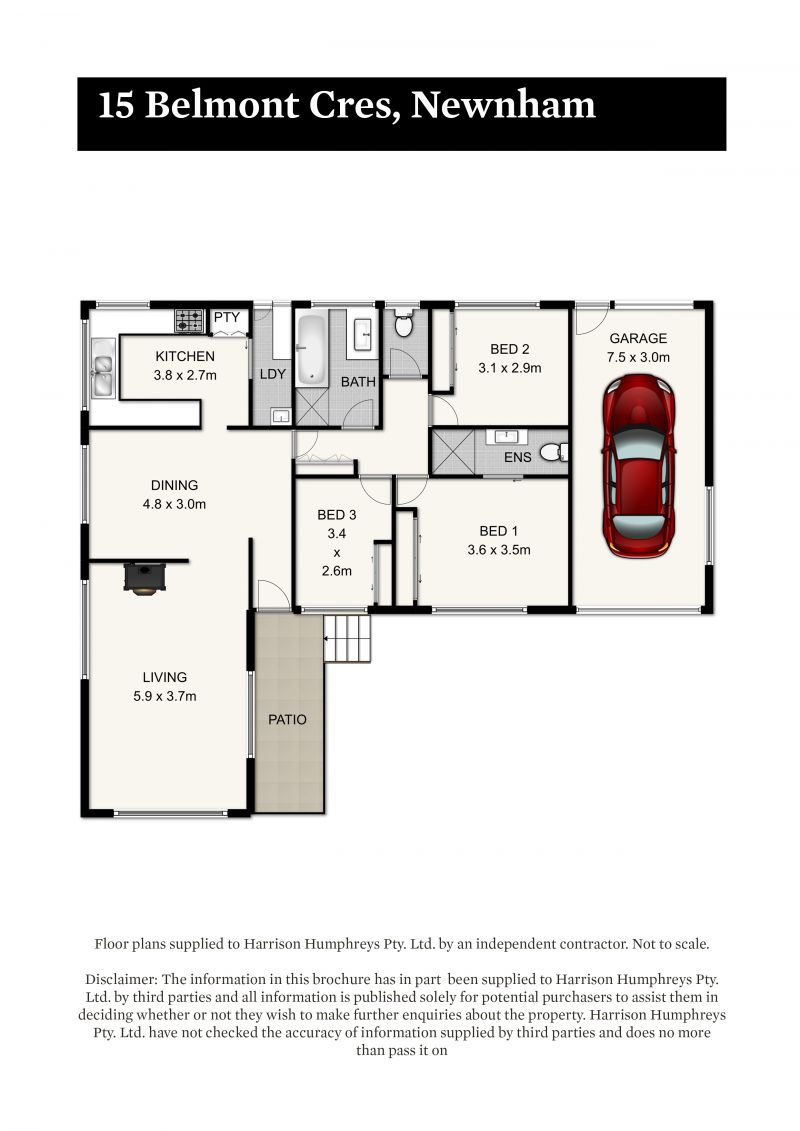 15 Belmont Court Floorplan