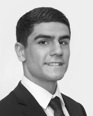 Nicholas  Ellias (Leasing and Sales Assistant)
