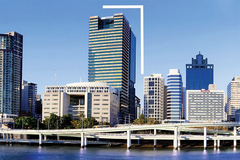 Modern 2-person office located in the heart of Brisbane CBD