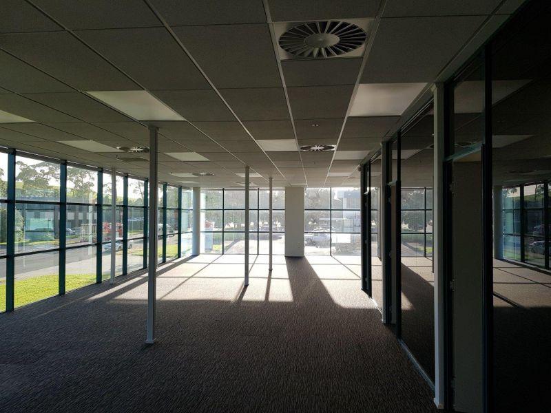 High Profile Corner Office