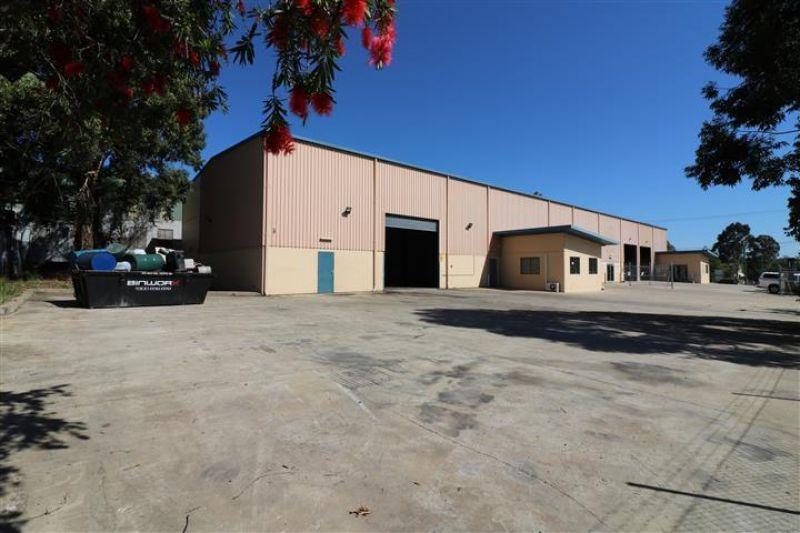 Warehouse & Yard with Stylish Office Fitout