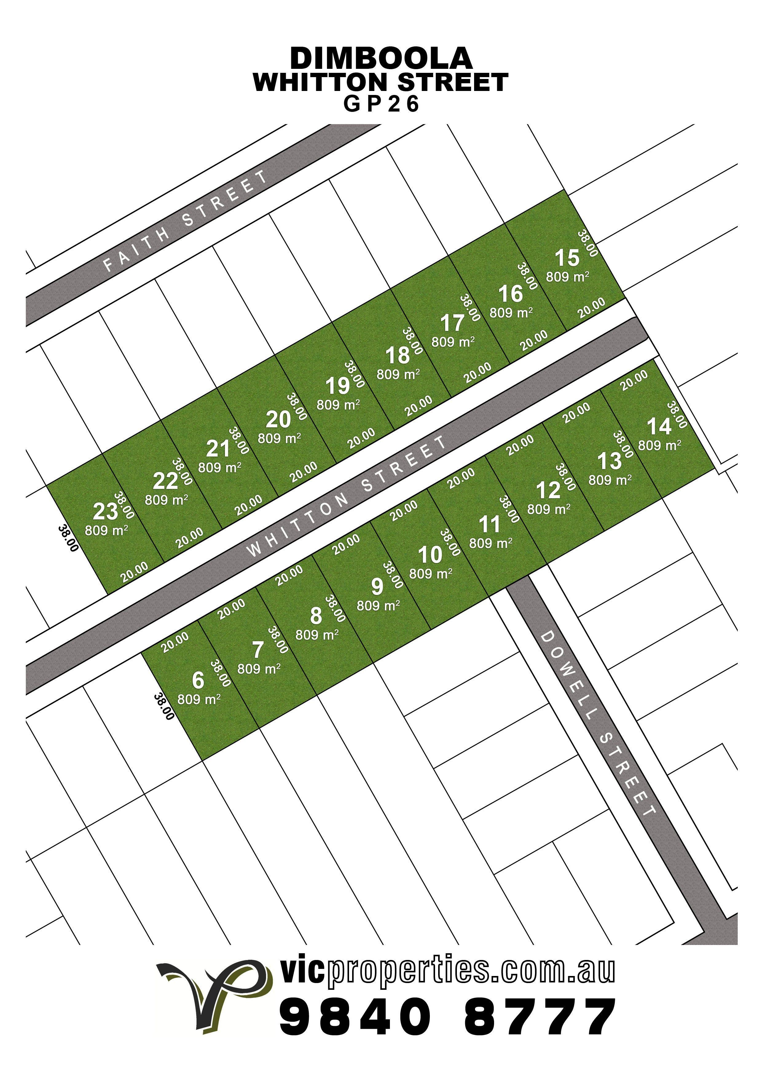 Lot 8/ Whitton Street, Dimboola VIC 3414