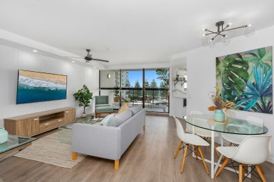 STUNNING BURLEIGH BEACHSIDE APARTMENT..