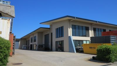 INDUSTRIAL UNITS WITH STREET FRONT EXPOSURE | WARANA