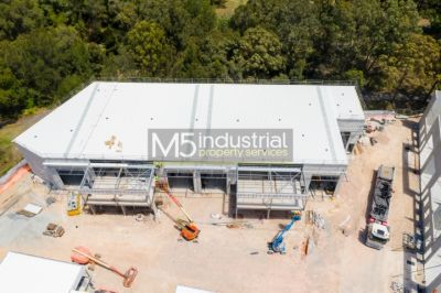 165sqm - Brand NEW Industrial 'Security' Complex