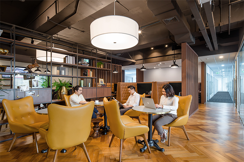 Executive 1-person office with unlimited access to Coworking breakout areas