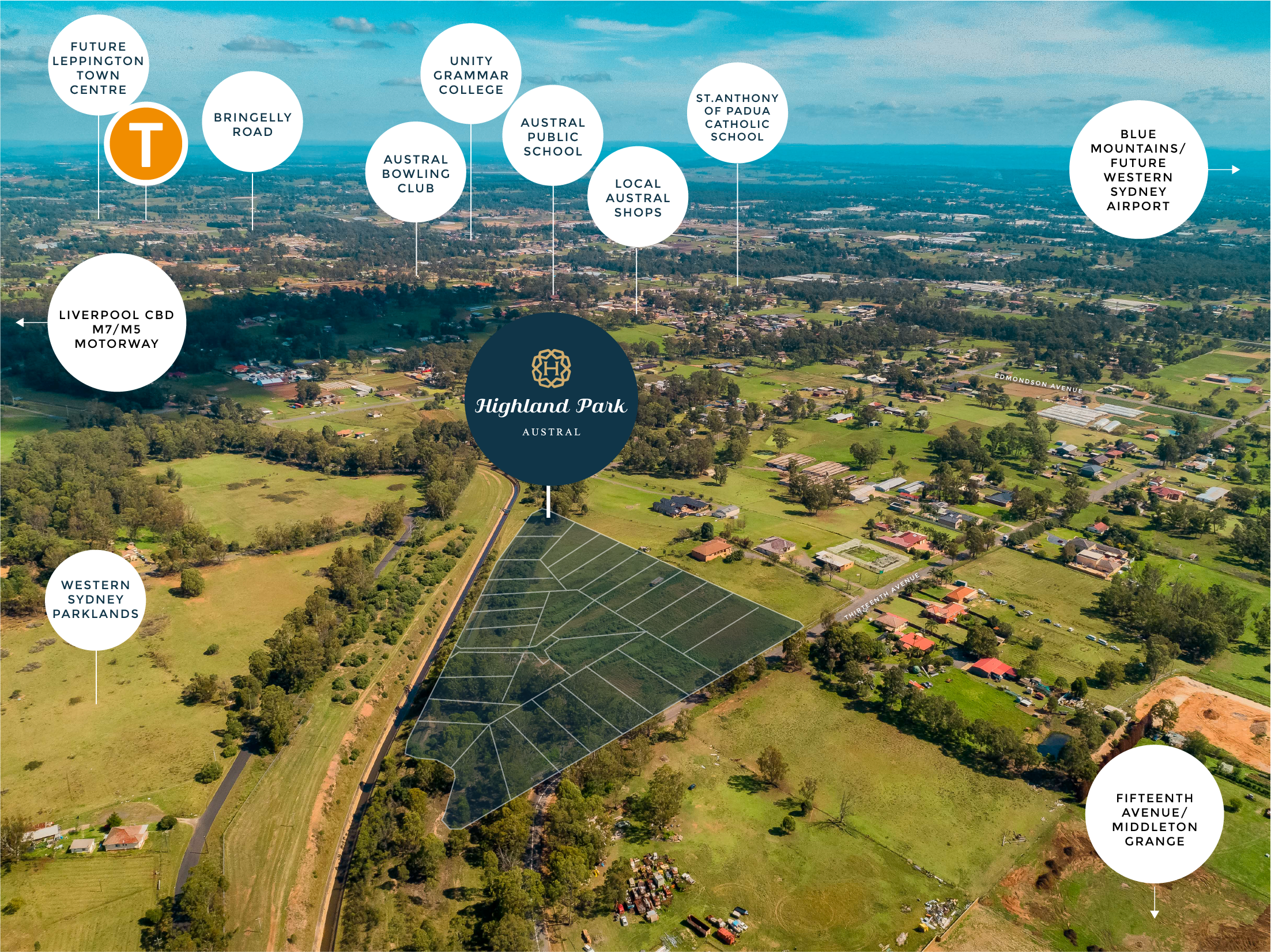 Austral's Most Exclusive Address - 1000m2Land Now Selling