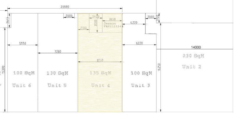 GRAND PLAZA COMMERCIAL UNIT – 145M2 – MULTI-PURPOSE RETAIL, OFFICE, SHOWROOM