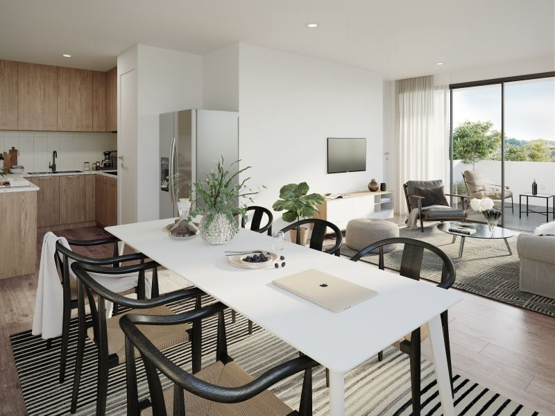 Discover the pleasures of sheer opulence living when you make this Jetty apartment your home.