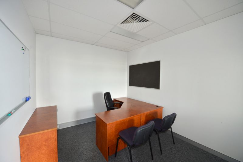 THIS MUST BE SOLD - Fitted Office With Furniture