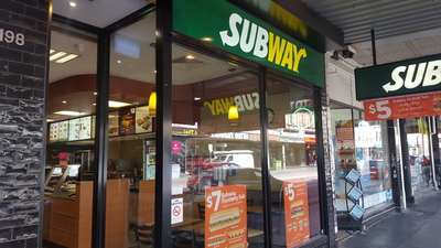 Magnificent Inner City Subway For sale - weekly sales $9500