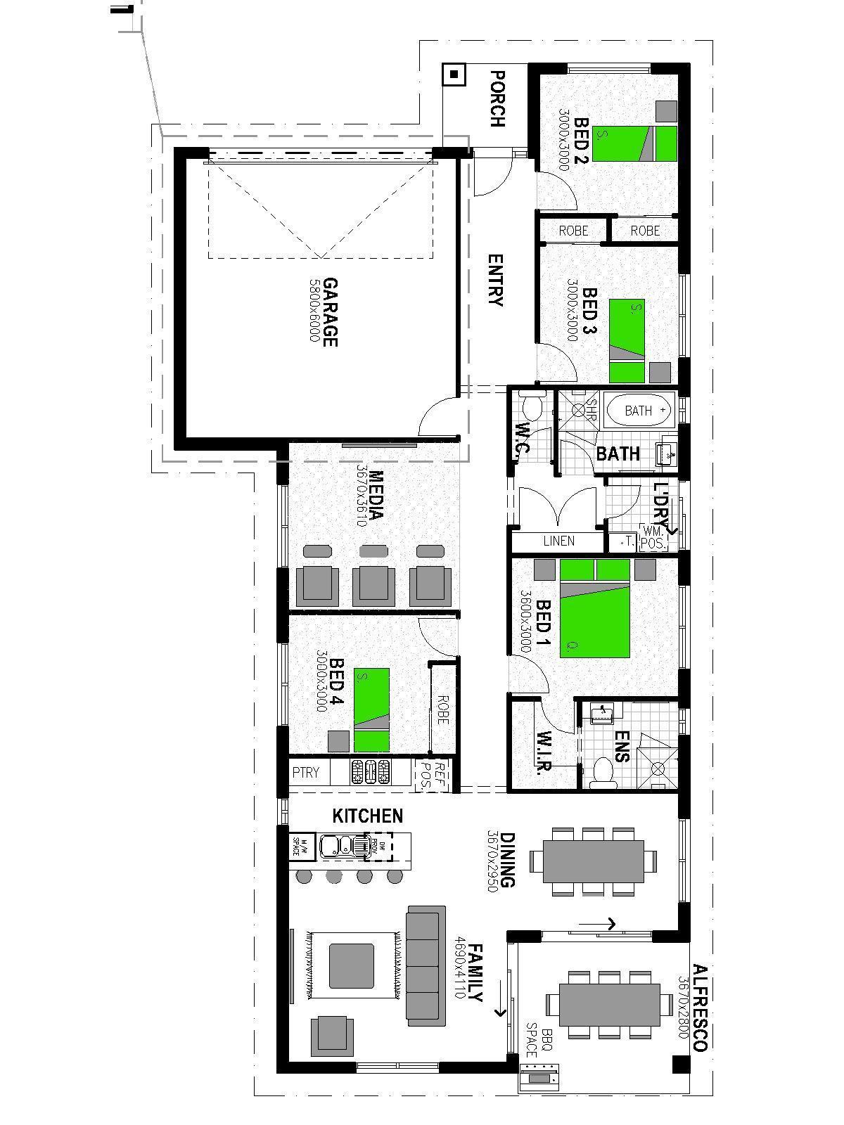 LOT 119 HAYFIELD ESTATE RIPLEY Floorplan