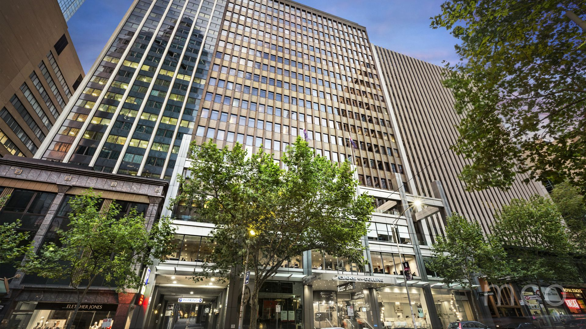 Highly sought after open plan office with Collins Street views