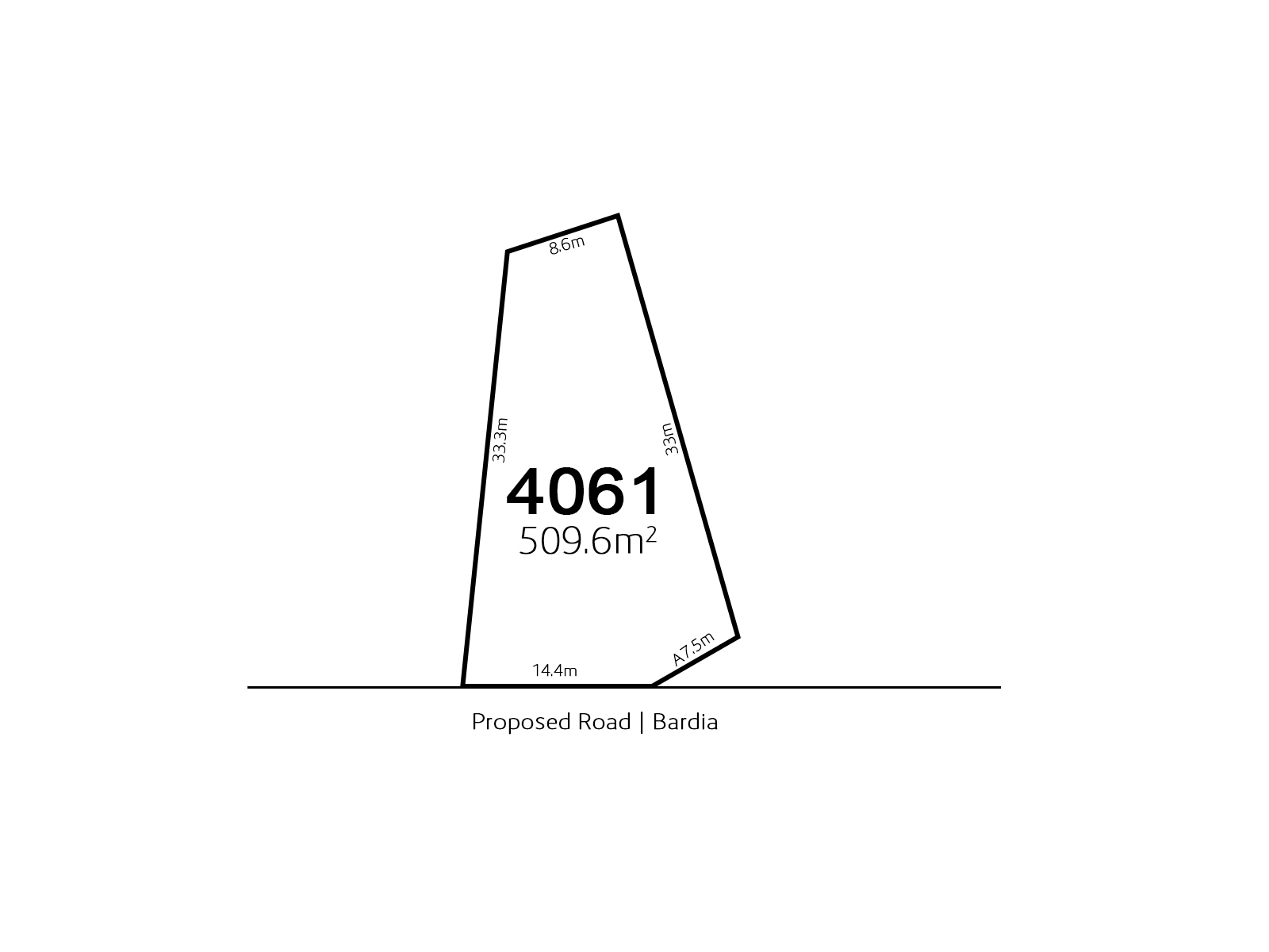 Bardia LOT 4061 Proposed Road | Bardia