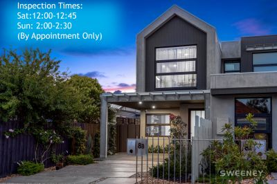 Voted the top 5 suburbs to live in on the planet and here's the very best contemporary home in Yarraville!