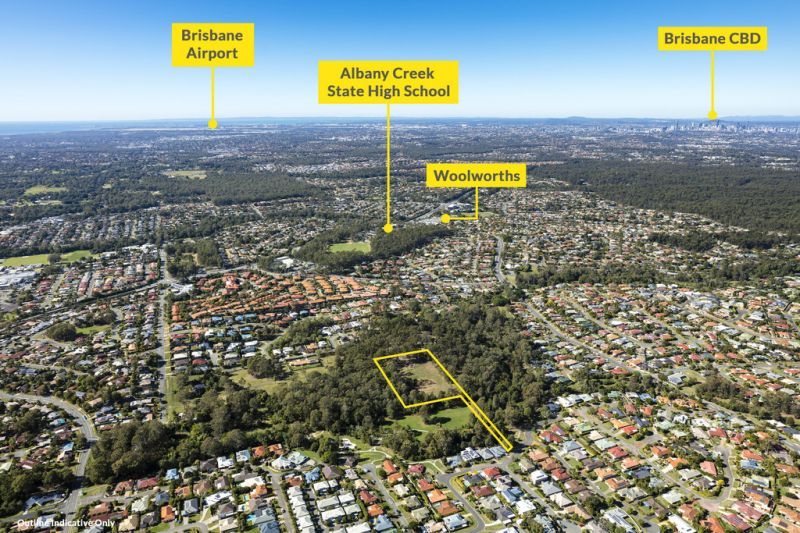 Albany Creek - 8,684m2* D.A for 20 Townhouses