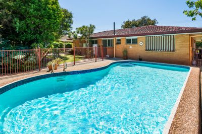 Tidy Brick and Tile Home in Quiet Street with Pool!