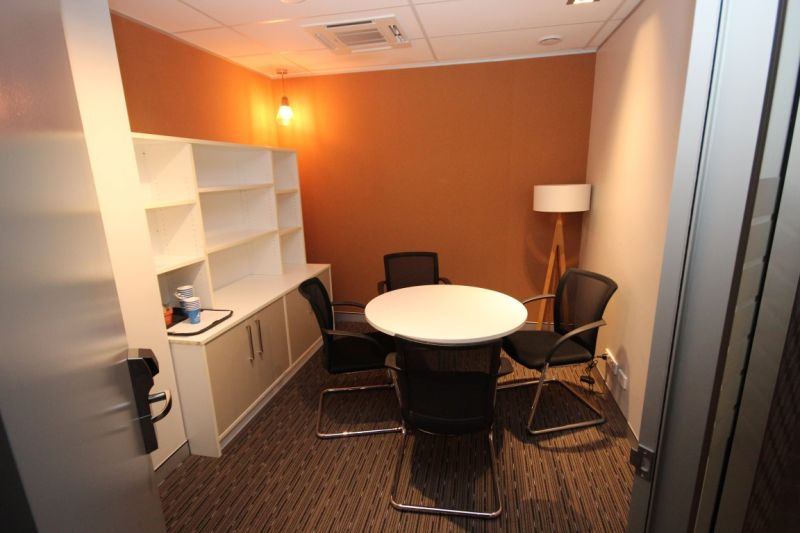 Partitioned and furnished CBD offices