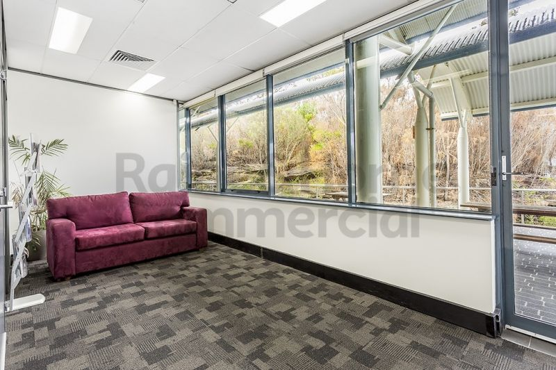 Modern Office in Natural Setting