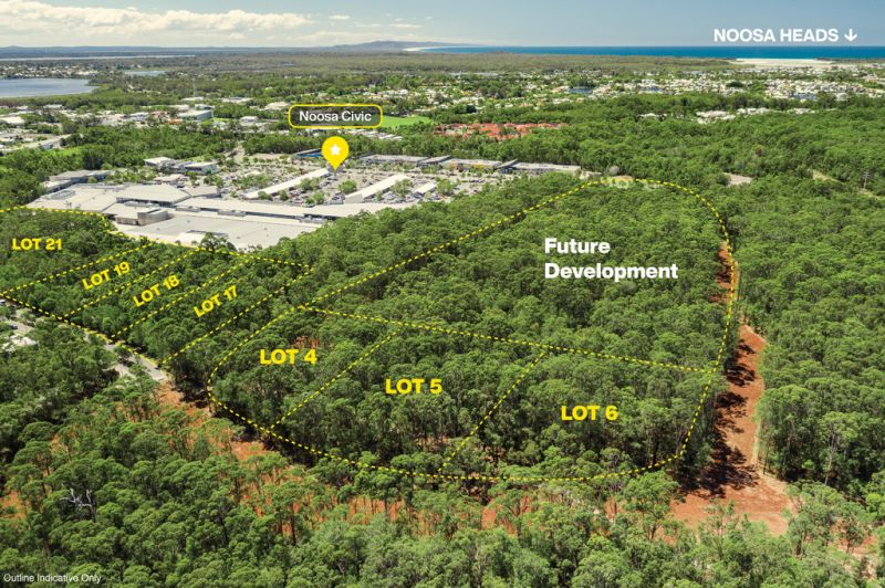 Noosa Civic Commercial Land - 2,307 square metres (approx)
