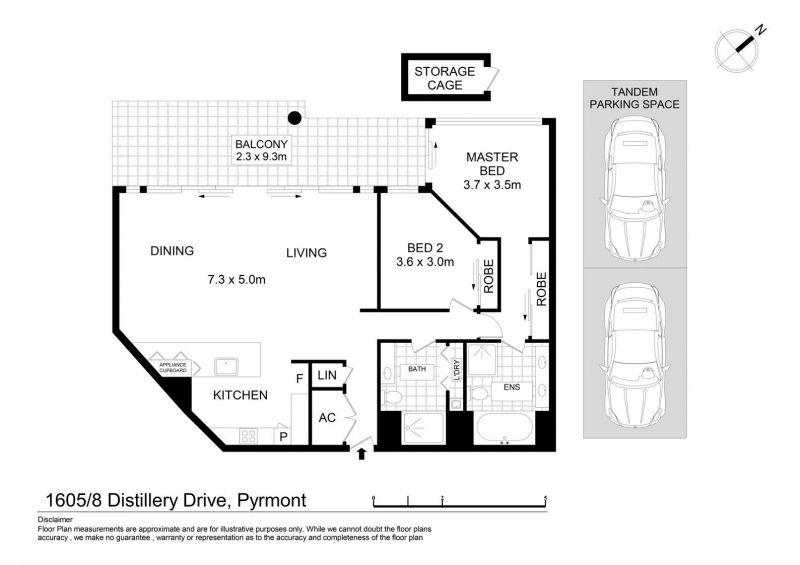 1605/8 Distillery Drive, Pyrmont