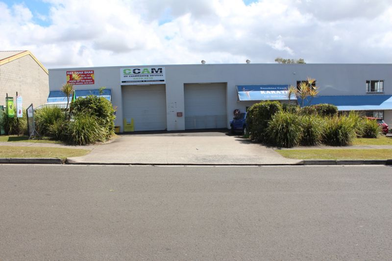 Compact, Secure, Clean & Tidy Industrial Shed For Lease | Central Maroochydore