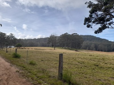 Fertile 100 acres with large Shed and two bedroom unit