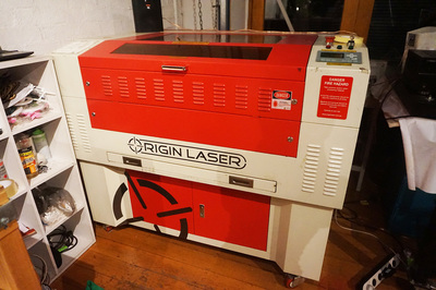 Game Changer- Laser Cutting Business for sale-  Take your first step to a Creative Career! – Priced to sell!