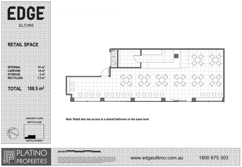 Retail Space with 17m Street Frontage in New Development!