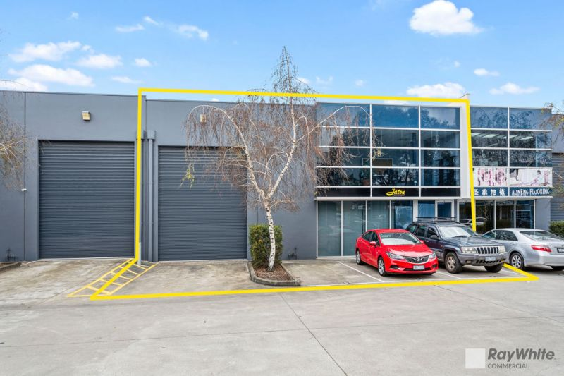 Boutique Secure Modern Warehouse with Office