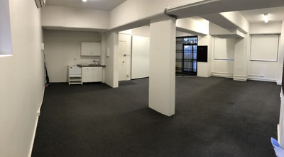 Office with street frontage and 2x carspaces