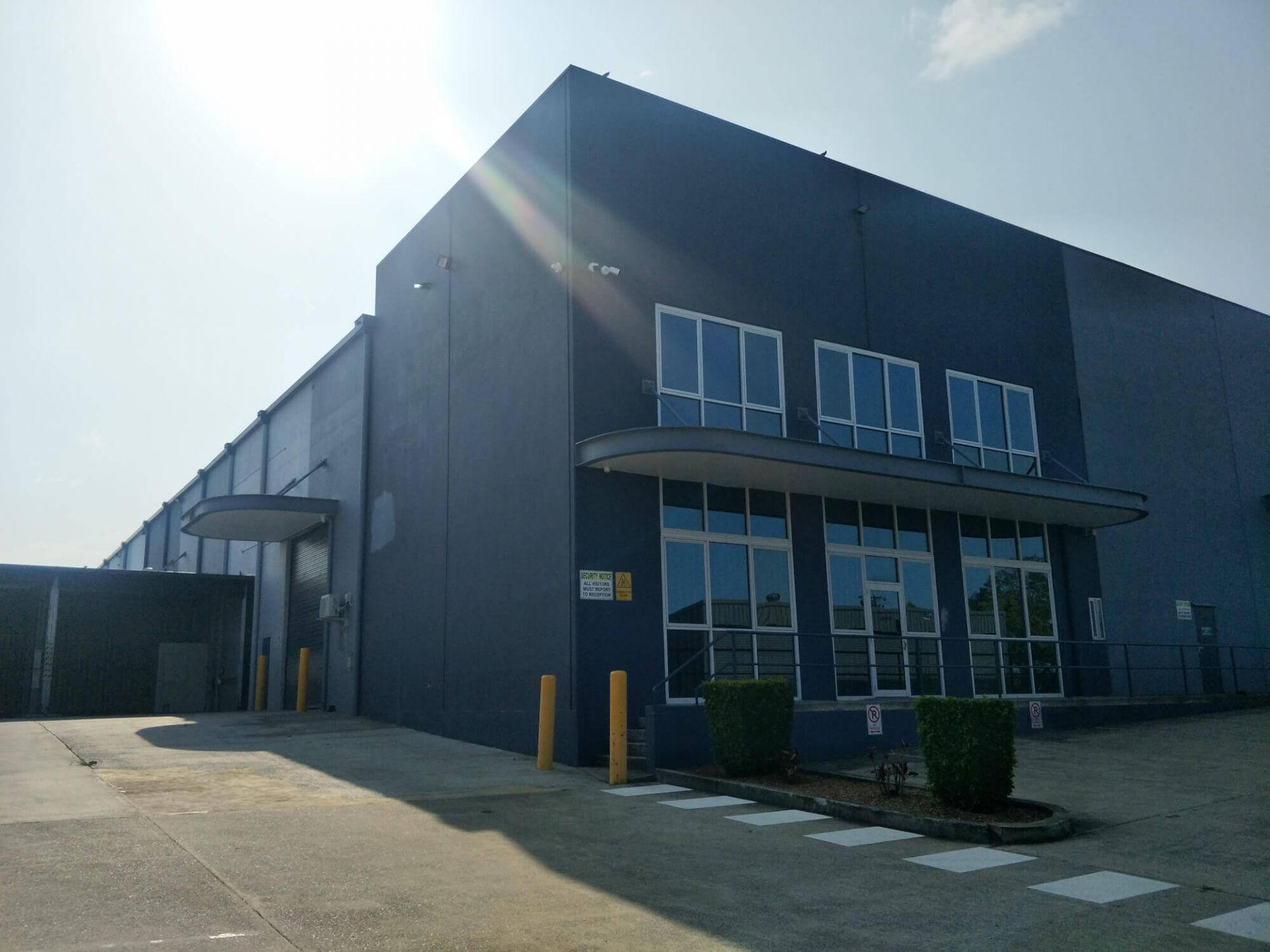 Warehouse 1043m2 and Office 332m2 - Available Now