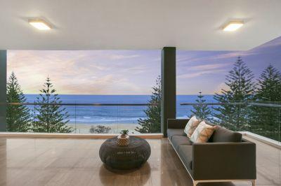 Luxury living on the Burleigh Heads beachfront