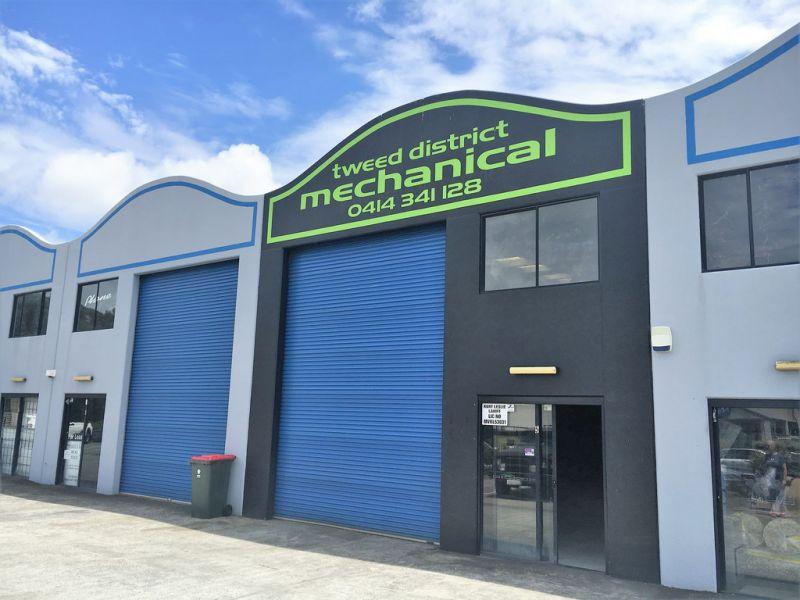 Former Mechanical Workshop For Lease