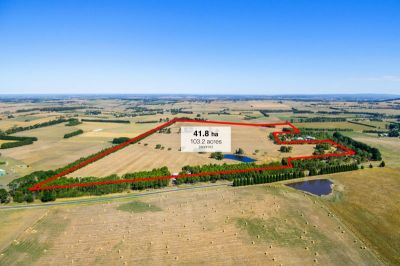 OUTSTANDING HOLDING - 41.75Ha (103 Acres) approx
